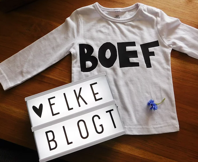 DIY shirt met flexfolie