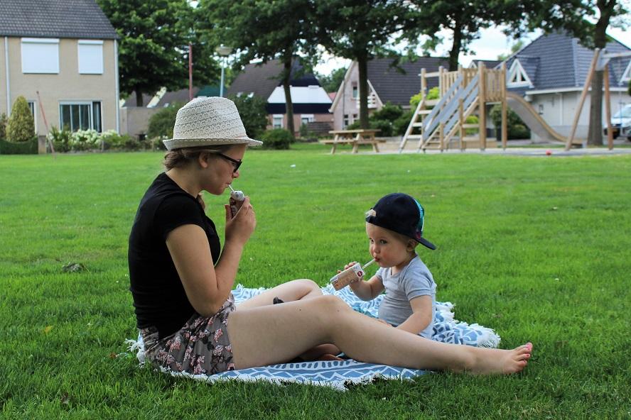 Picknicken met de pakjes van Dixap