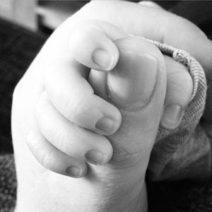 Waarom ik mijn baby nooit heb laten huilen