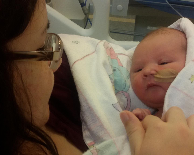 'Mijn eerste zwangerschap en bevalling' door Taja