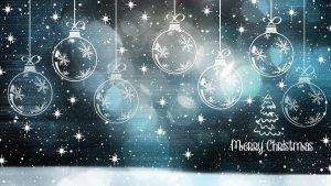 krijtbordstift Kerst