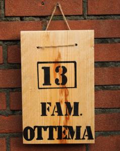 DIY: steigerhouten naambord