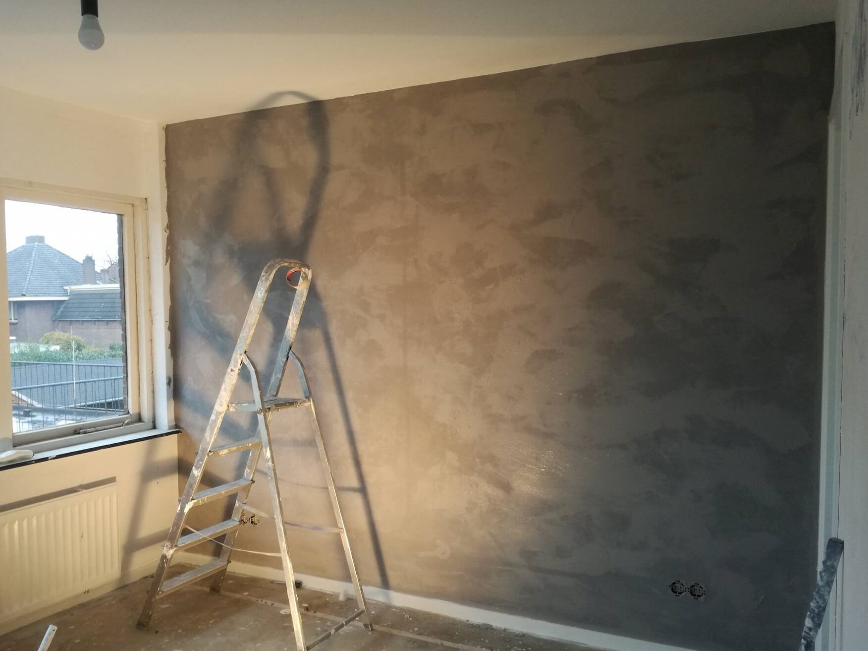 Betonlook muur beton elke t