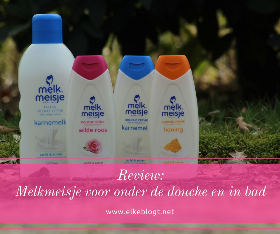 Review: Melkmeisje voor in bad en onder de douche
