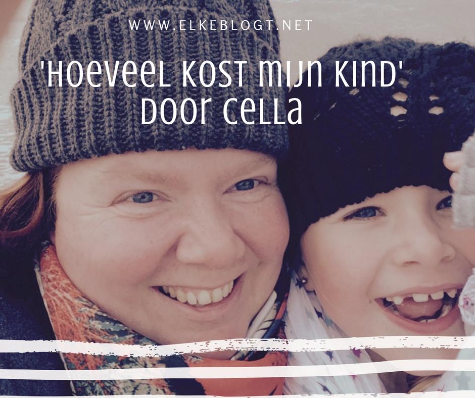 'Hoeveel kost mijn kind' door Cella – mama van tieners
