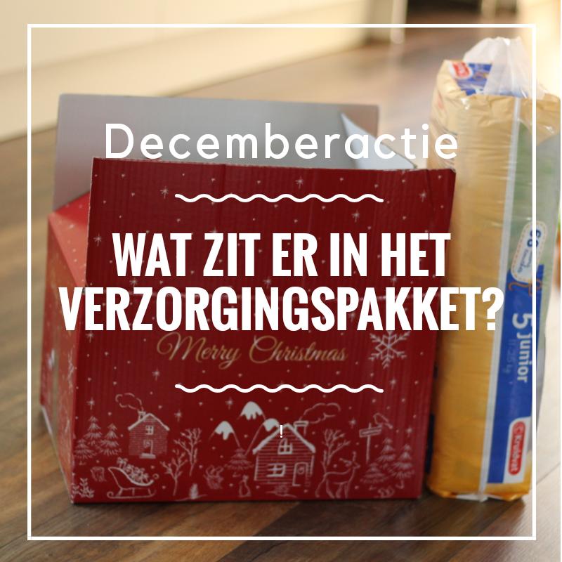 Decemberactie – Wat zit er in het verzorgingspakket?