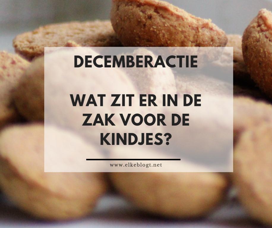 Decemberactie – Wat zit er in de zak?