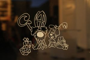 Raamtekening Sinterklaas –  gratis ideetjes