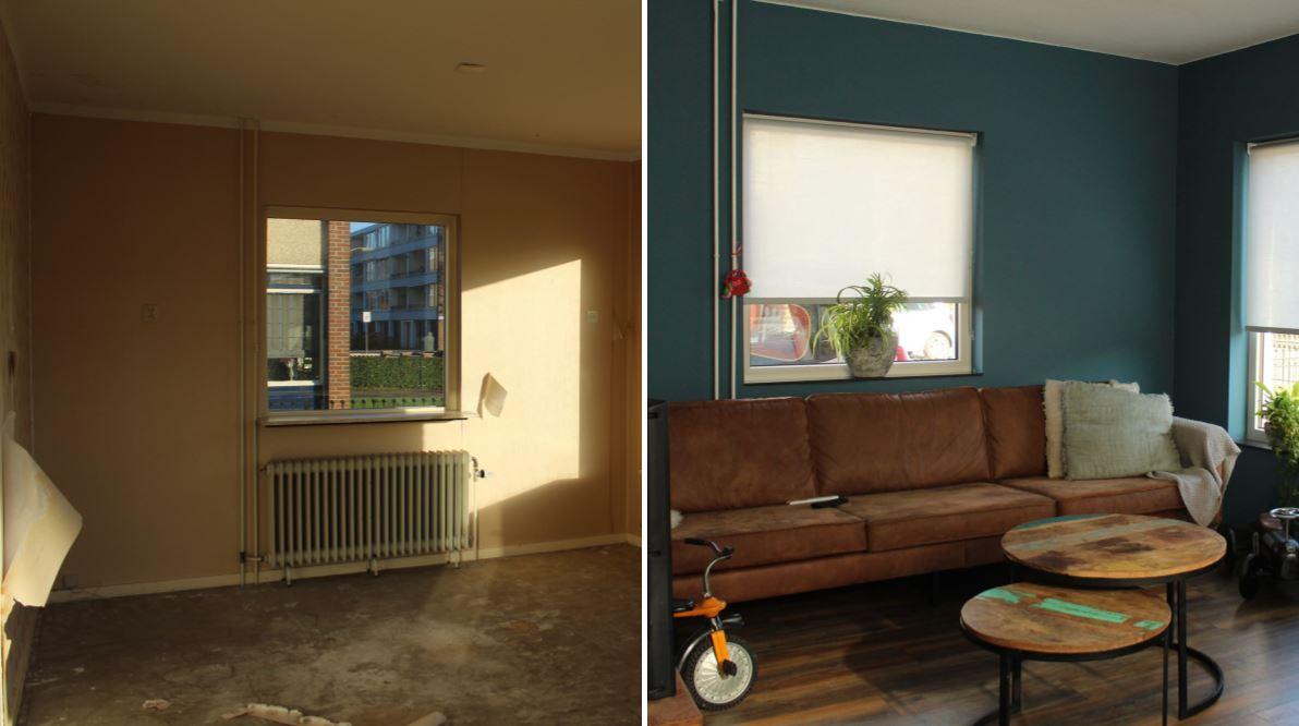 De verbouwing van onze woonkamer