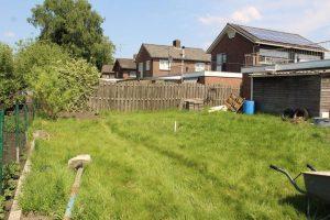 De verbouwing van onze achtertuin