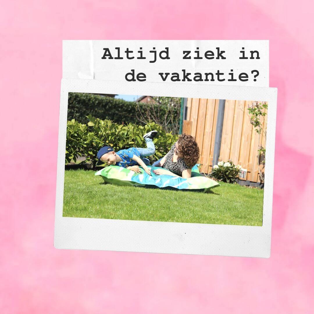 Altijd ziek in de vakantie? Zo komt het