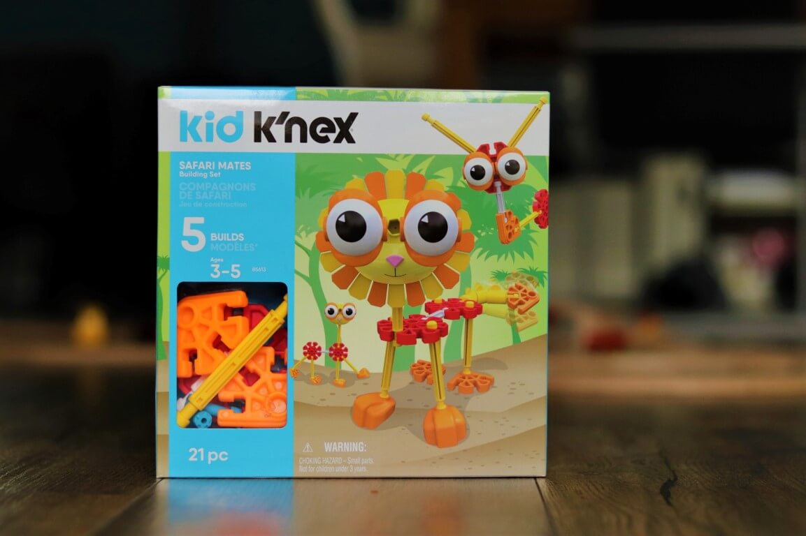 Review Kid K'NEX Safari Mates