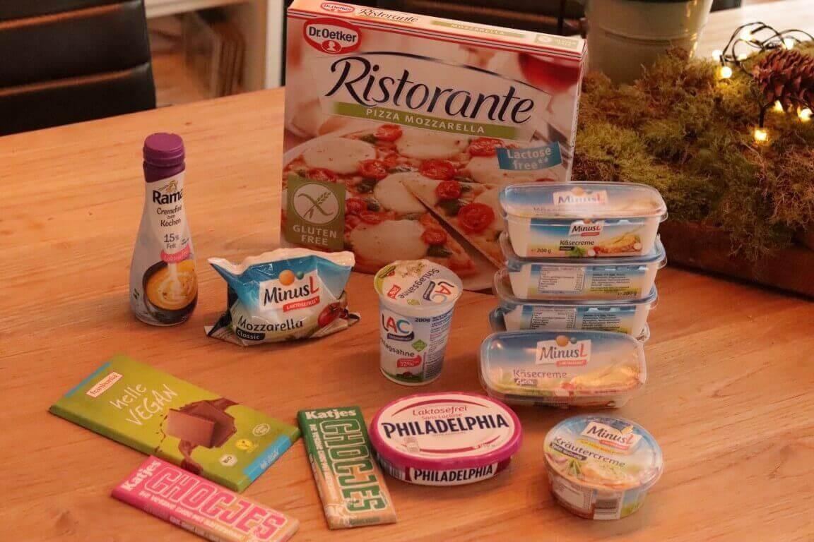 Deze lactosevrije producten kocht ik in Duitsland