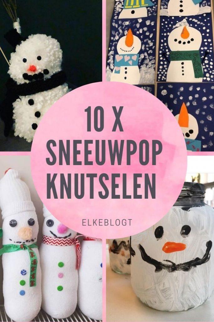 sneeuwpop-knutselen