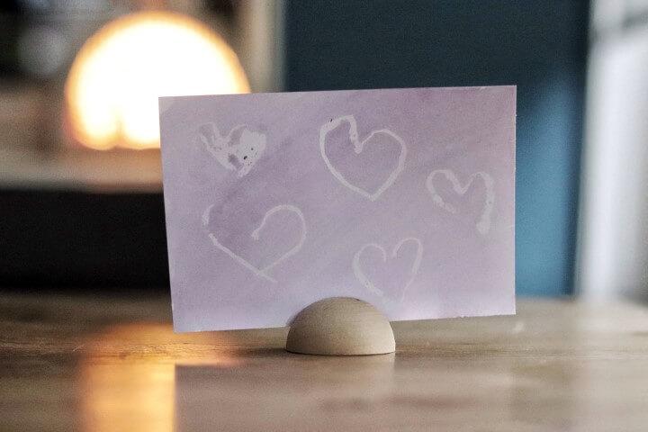 Kaart knutselen voor Valentijnsdag of Moederdag