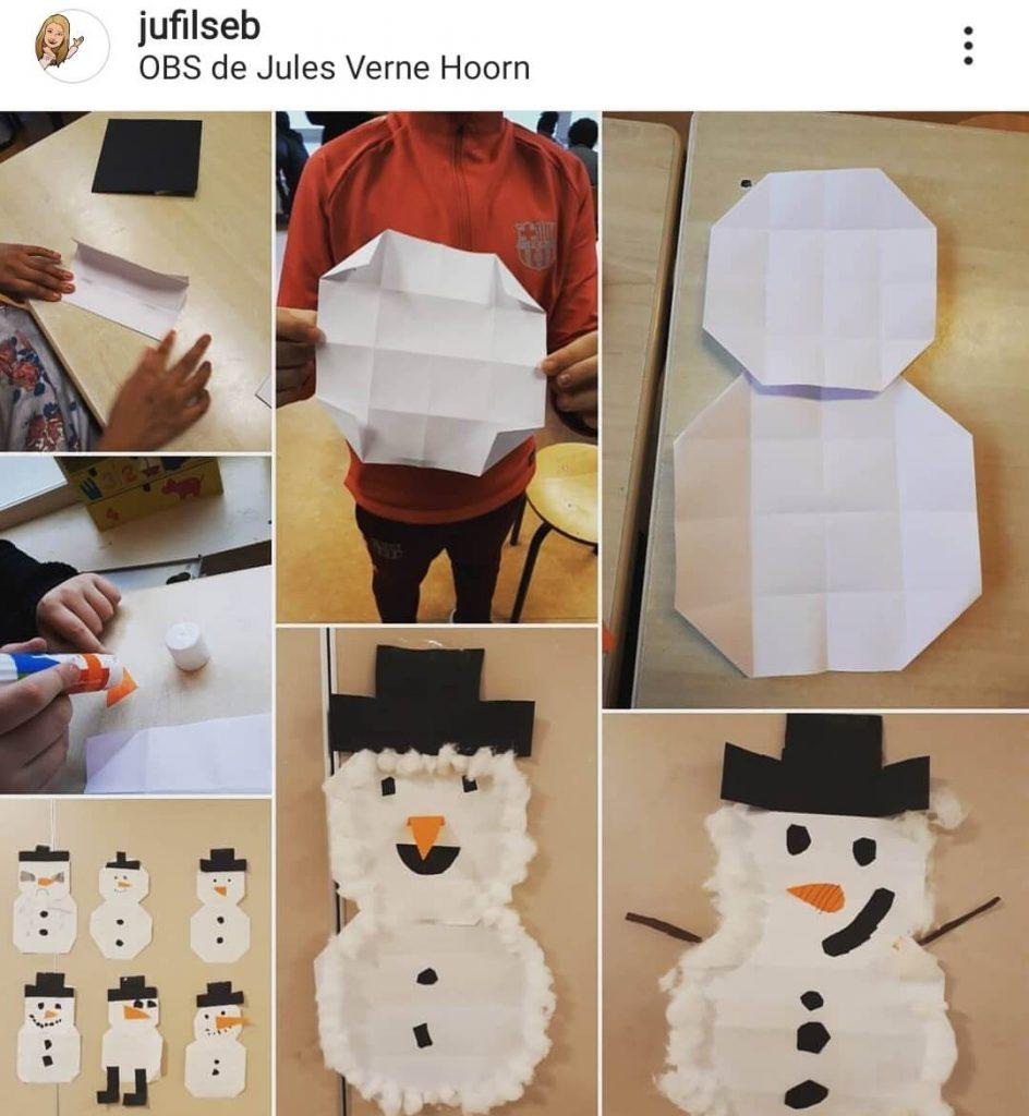 sneeuwpop-vouwen