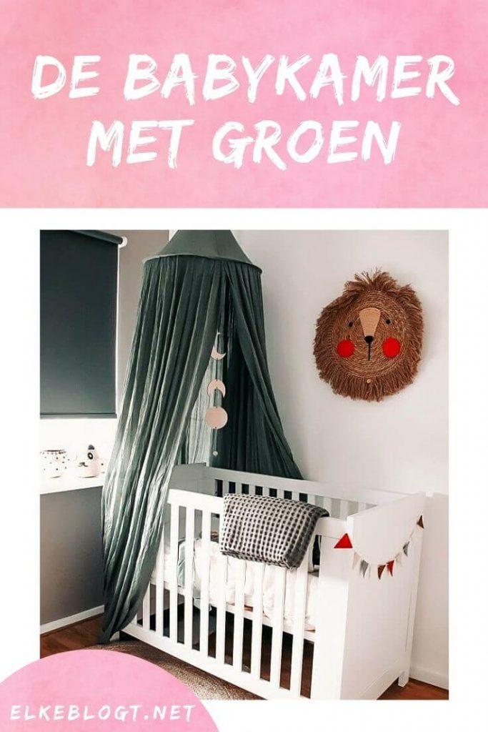 babykamer-met-groen