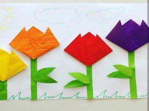 Bloemen-knutselen-voorjaar-lente-peuters-kleuters